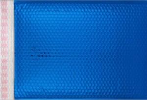 blau opak C3 Metallic Bubblebag Luftpolsterumschläge