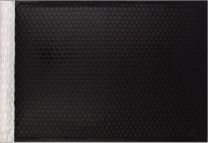 schwarz matt C3 Metallic Bubblebag Luftpolsterumschläge