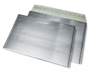 silber opak C3 Metallic Bubblebag Luftpolsterumschläge