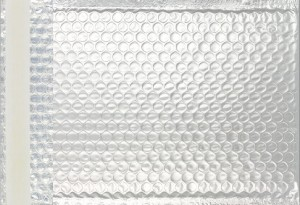 silber matt C3 Metallic Bubblebag Luftpolsterumschläge
