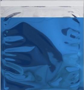 blau opak 220 Snooploop Folienumschlag