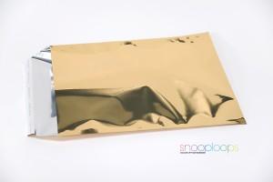 gold opak C4 Snooploop Folienumschlag