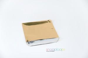 gold opak 220 Snooploop Folienumschlag
