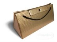 Triangel Geschenkverpackung L gold