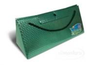 Triangel Geschenkverpackung L grün
