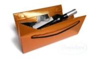 Triangel Geschenkverpackung L orange