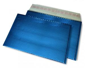 blau opak C4 Metallic Bubblebag Luftpolsterumschläge