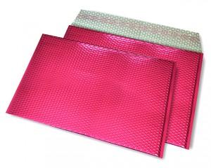 pink opak C4 Metallic Bubblebag Luftpolsterumschläge