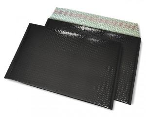 schwarz opak C4 Metallic Bubblebag Luftpolsterumschläge