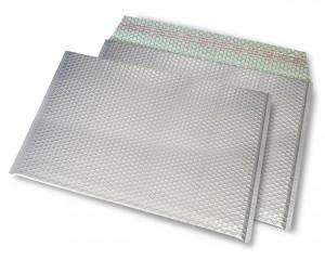 silber matt C4 Metallic Bubblebag Luftpolsterumschläge