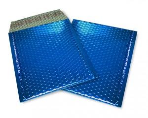 blau opak C5 Metallic Bubblebag Luftpolsterumschläge