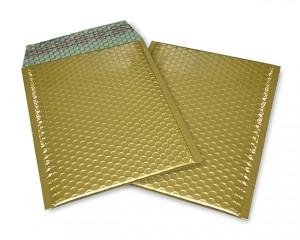 gold matt C5 Metallic Bubblebag Luftpolsterumschläge