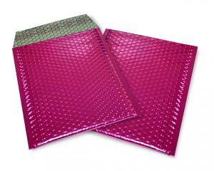 pink opak C5 Metallic Bubblebag Luftpolsterumschläge