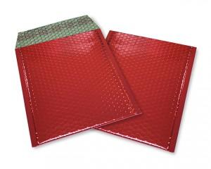 rot opak C5 Metallic Bubblebag Luftpolsterumschläge