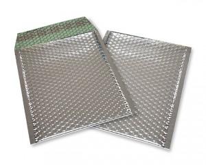 silber opak C5 Metallic Bubblebag Luftpolsterumschläge