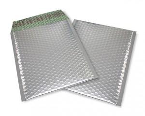 silber matt C5 Metallic Bubblebag Luftpolsterumschläge