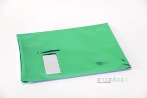 grün opak C4 Snooploop Folienumschlag mit Fenster