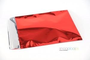 rot opak C4 Snooploop Folienumschlag