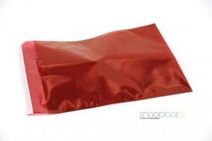 rot transluzent C4 Snooploop Folienumschlag