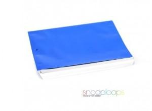blau opak C6 Snooploop Folienumschlag