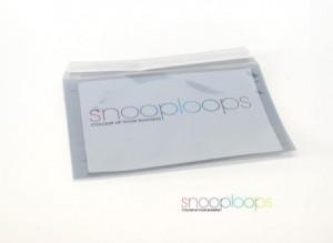 silber transluzent C6 Snooploop Folienumschlag