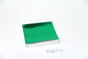 grün opak CD160 Snooploop Folienumschlag