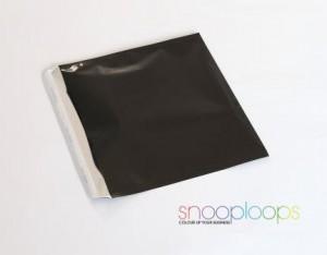 schwarz opak CD160 Snooploop Folienumschlag