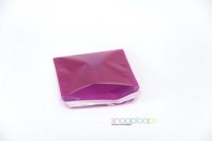 pink transluzent 220 Snooploop Folienumschlag
