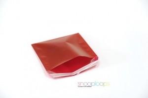 rot transluzent CD160 Snooploop Folienumschlag