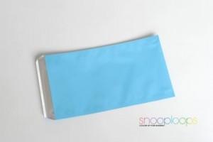 candy blau matt Din lang Snooploop Folienumschlag