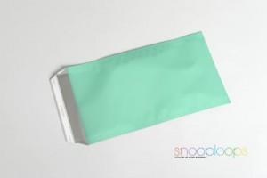 candy grün matt Din lang Snooploop Folienumschlag