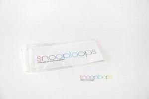 farblos clear Din lang Snooploop Folienumschlag