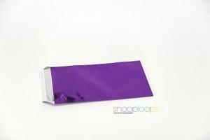 violett opak Din lang Snooploop Folienumschlag