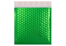 grün opak CD Metallic Bubblebag Luftpolsterversandtasche