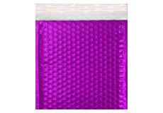 violett opak CD Metallic Bubblebag Luftpolsterumschläge