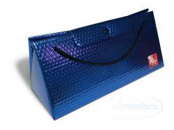 Triangel Geschenkverpackung L blau