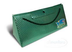 Triangel Geschenkverpackung S grün