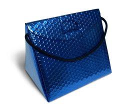 Triangel Geschenkverpackung S blau