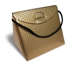 Triangel Geschenkverpackung S gold