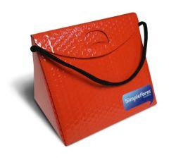 Triangel Geschenkverpackung S rot