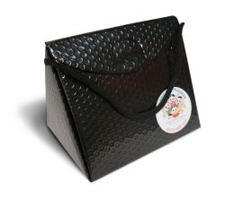 Triangel Geschenkverpackung S schwarz