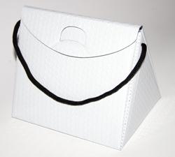 Triangel Geschenkverpackung S weiss