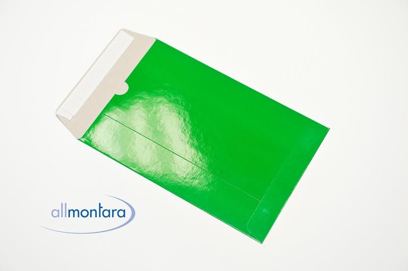 Vollpappversandtasche C4 grün glänzend