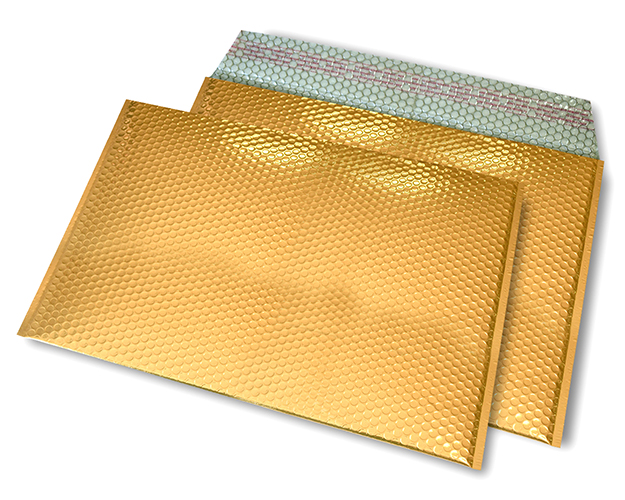 gold opak C4 Metallic Bubblebag Luftpolsterumschläge