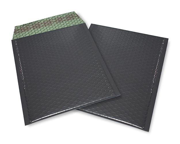 schwarz matt C5 Metallic Bubblebag Luftpolsterumschläge