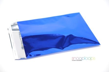 blau opak C3 Snooploop Folienumschlag