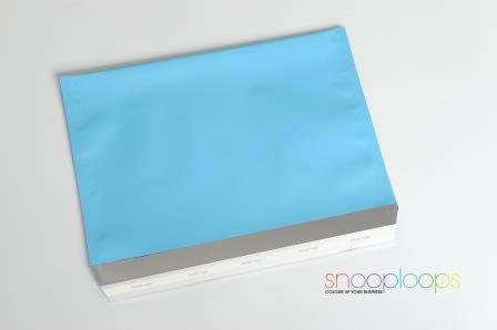 candy blau matt C5 Snooploop Folienumschlag
