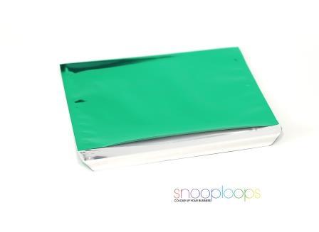 grün opak C5 Snooploop Folienumschlag