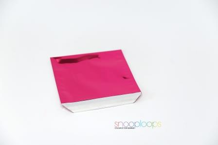 pink opak 220 Snooploop Folienumschlag