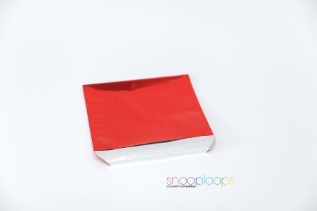 rot opak CD160 Snooploop Folienumschlag